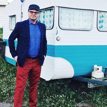 Rainn Wilson in Working Style