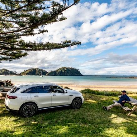 Mercedes Benz EQC - A Trip to Matapouri