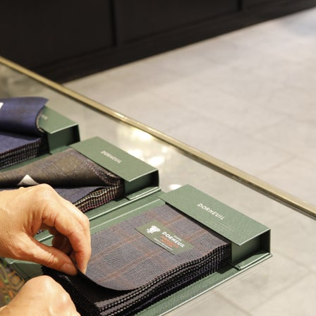 New Dormeuil Cloth In Stores