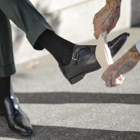 Get the Cool Shoe Shine