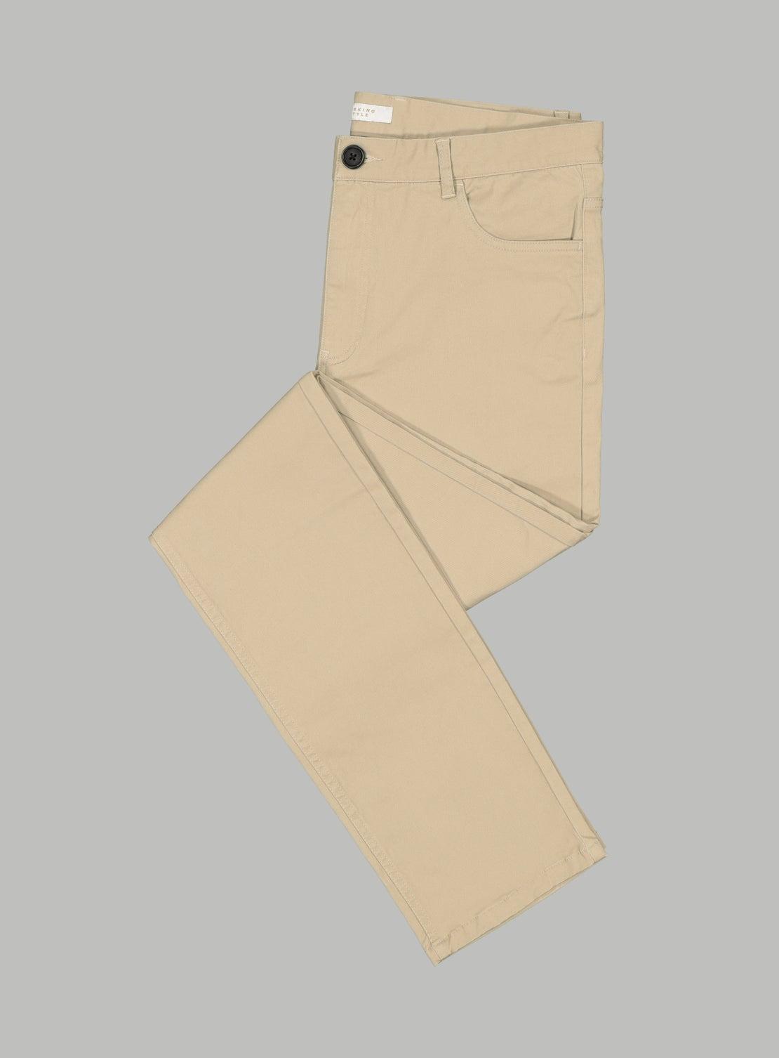 Abe Tan 5 Pocket Trouser