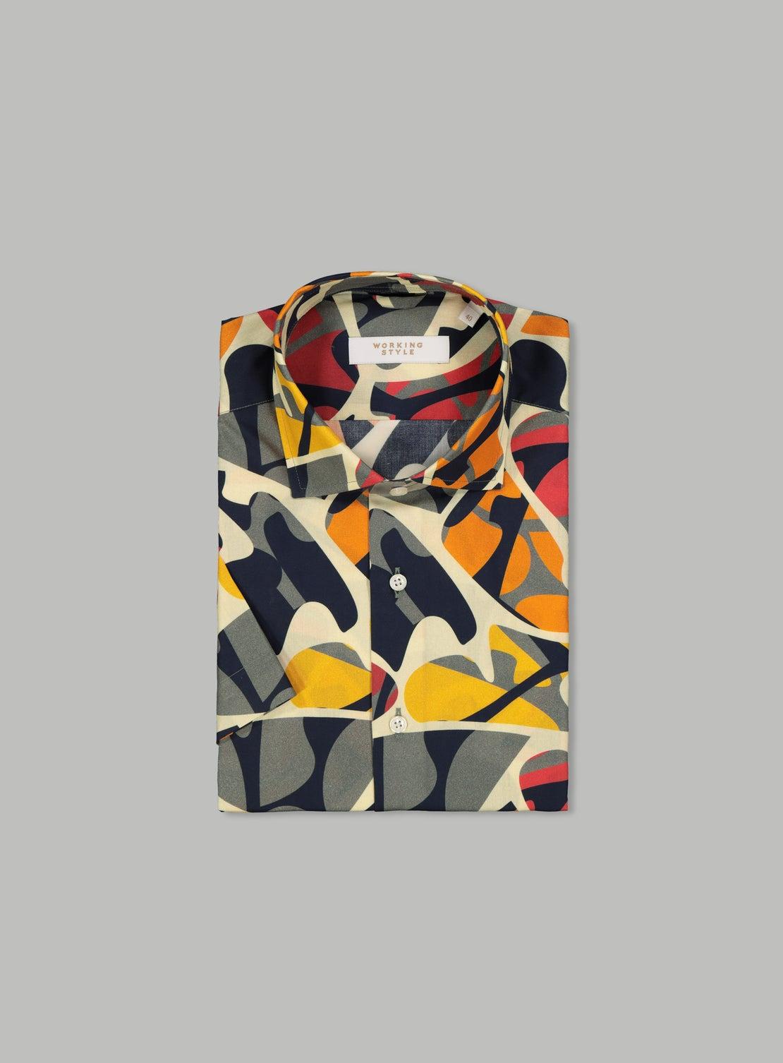 Alexander Multi Short Sleeve Shirt