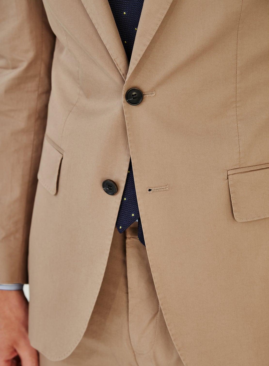 Beige Cotton Jacket