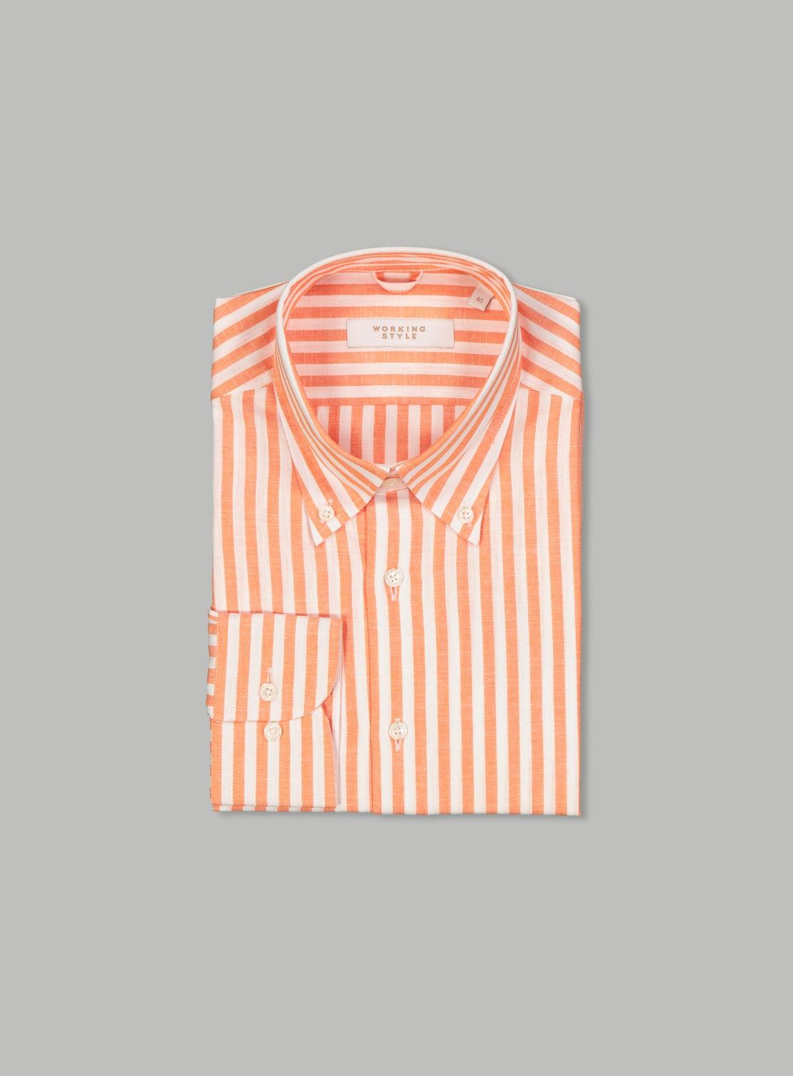 Bernd Orange Shirt