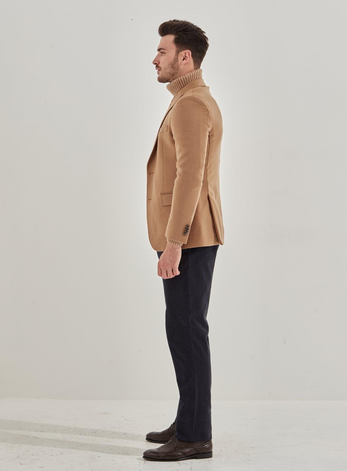 Bert Camel Wool/Cashmere Jacket