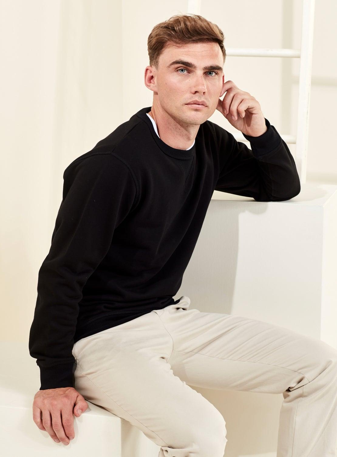 Black French Terry Sweatshirt