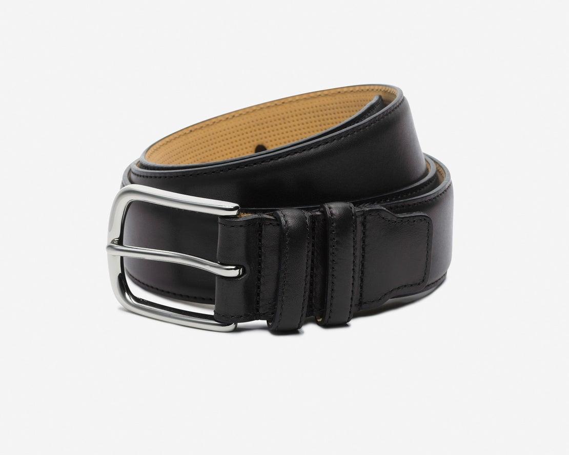 *Black Leather Belt