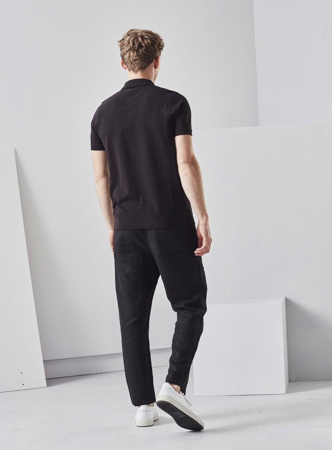 Black Linen Pants