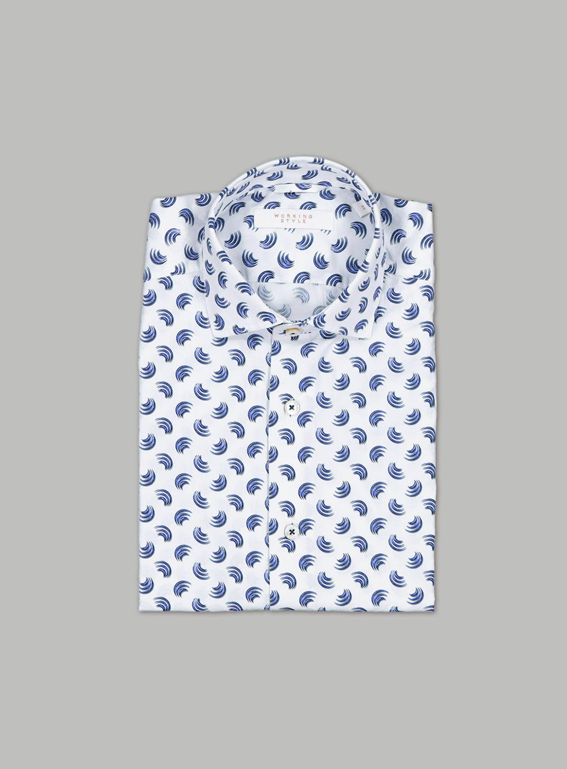 Blue Ark Short Sleeved Shirt