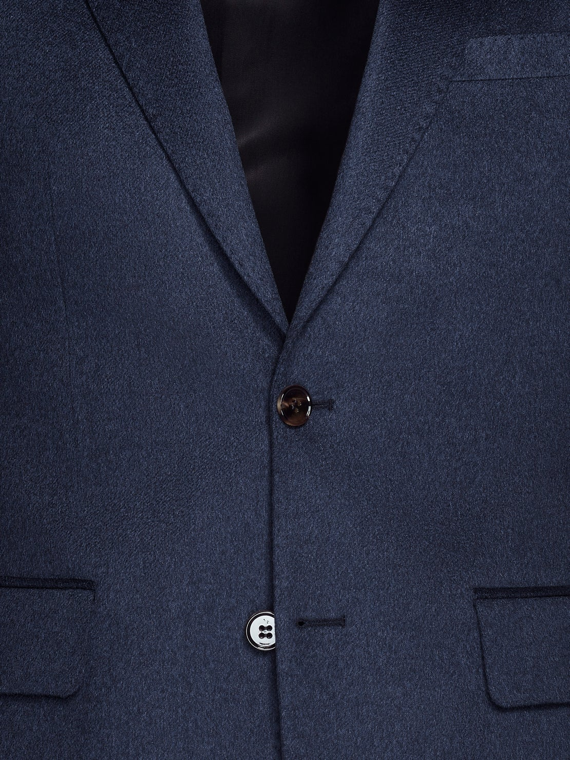 Blue Cashmere Jacket