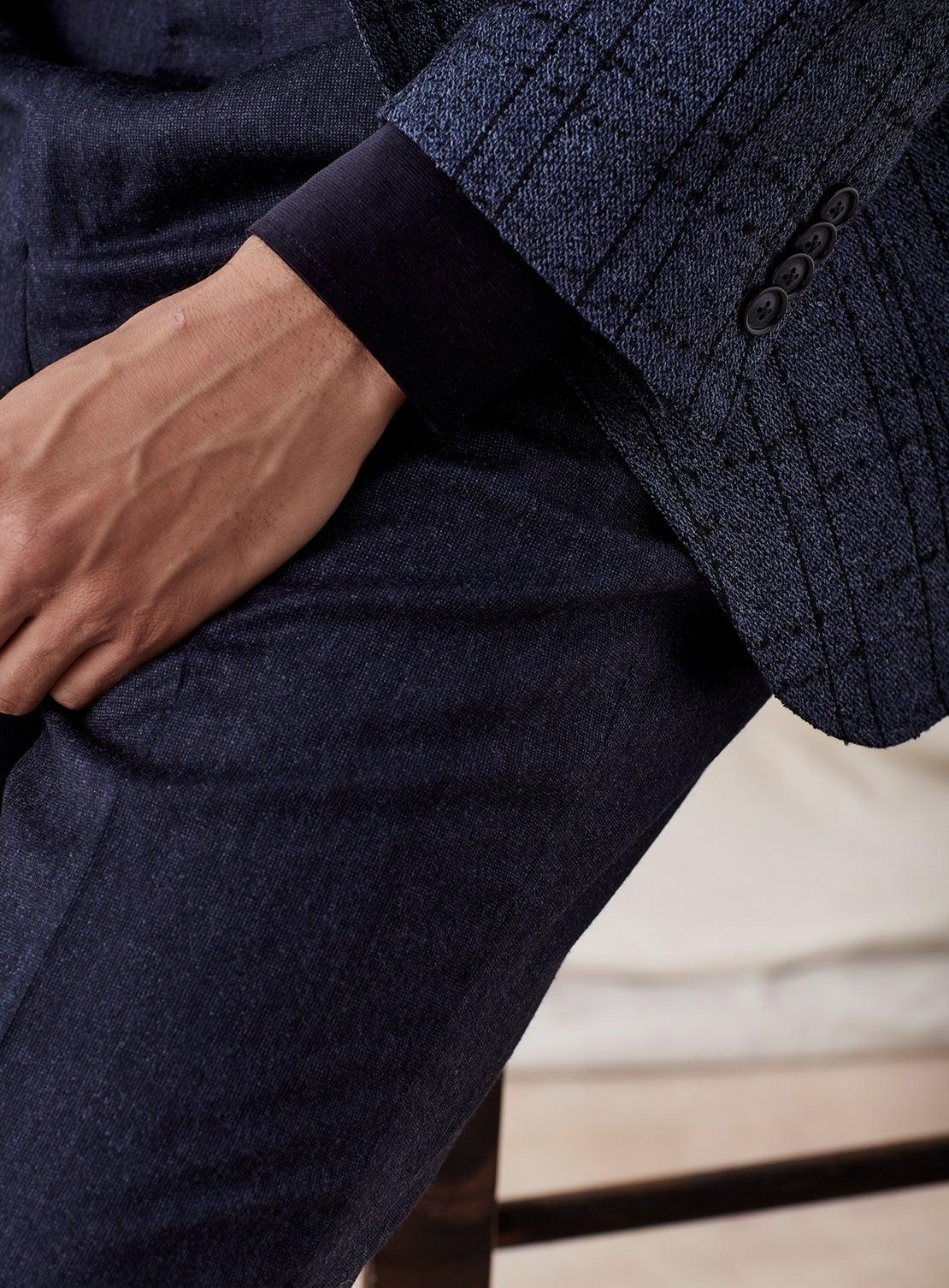 Blue Dress Trouser
