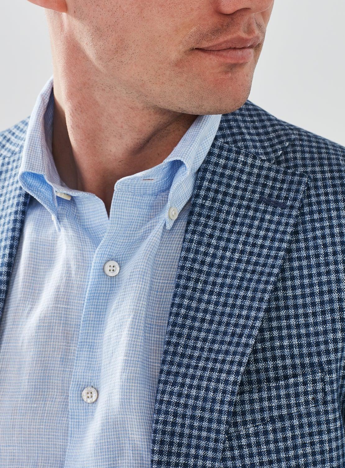 Blue Gingham Jacket