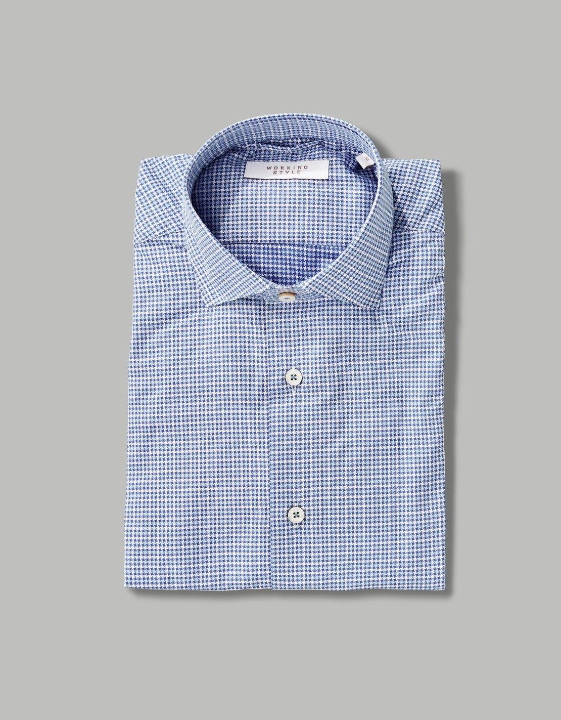 Blue Ninja Star Shirt