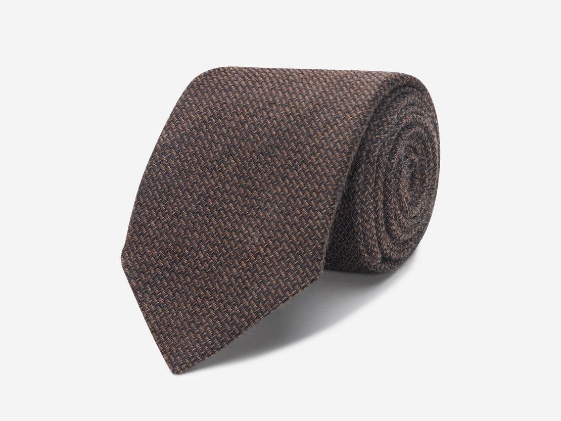 Bronze Basket Weave Tie