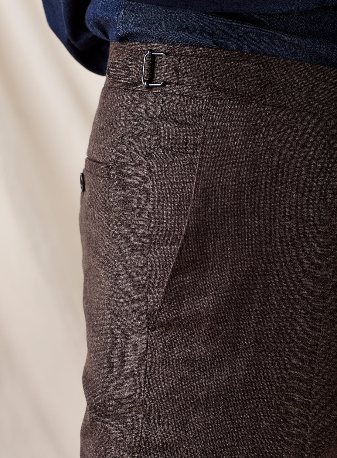 Brown Dress Trouser