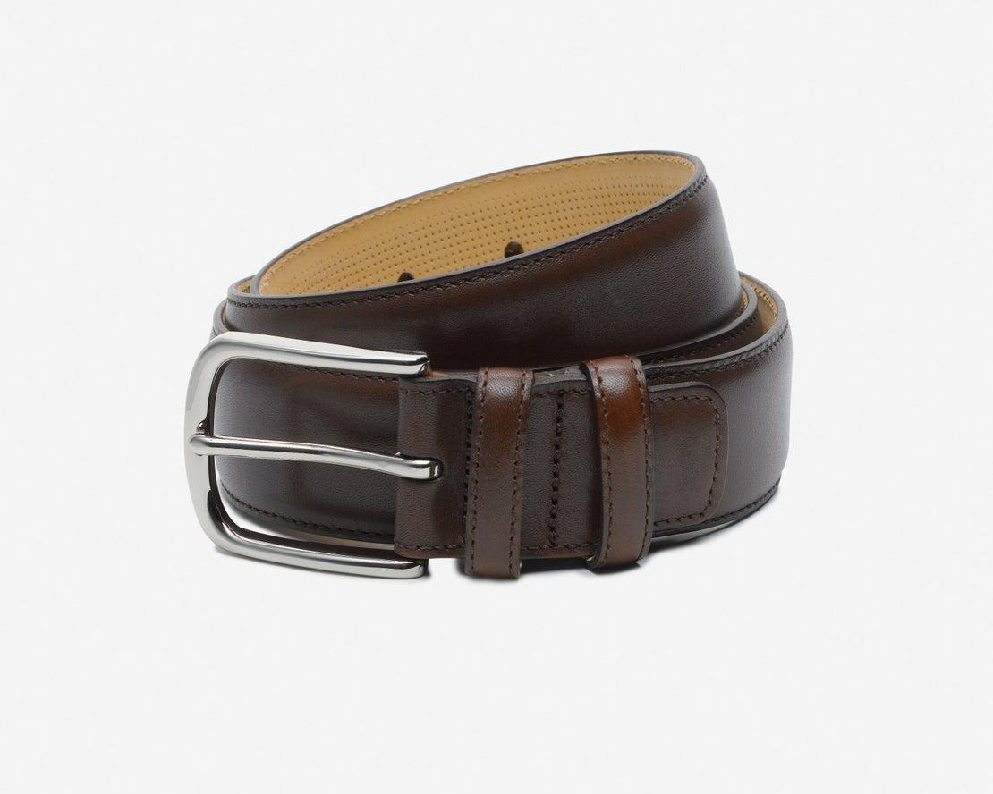*Brown Leather Belt