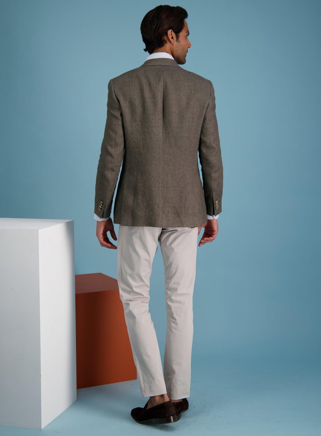 Brown Tavira Twill Jacket