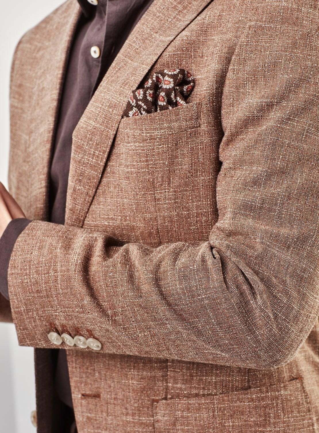 Brown Texture Jacket