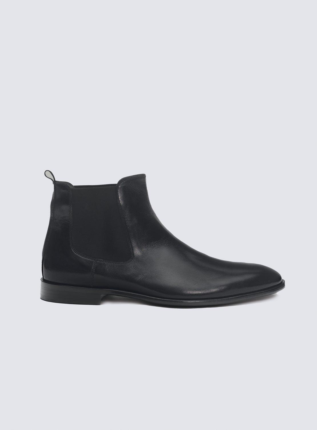 Buckley Black Chelsea Boot