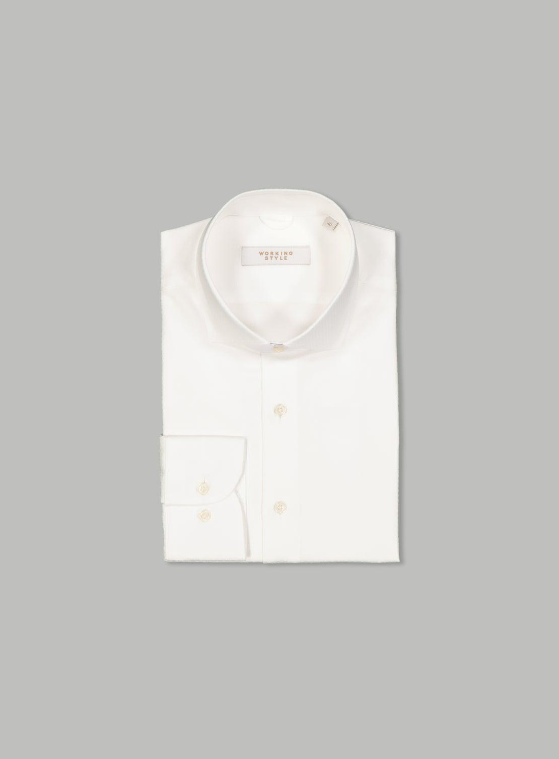 Carlo White Essential Shirt