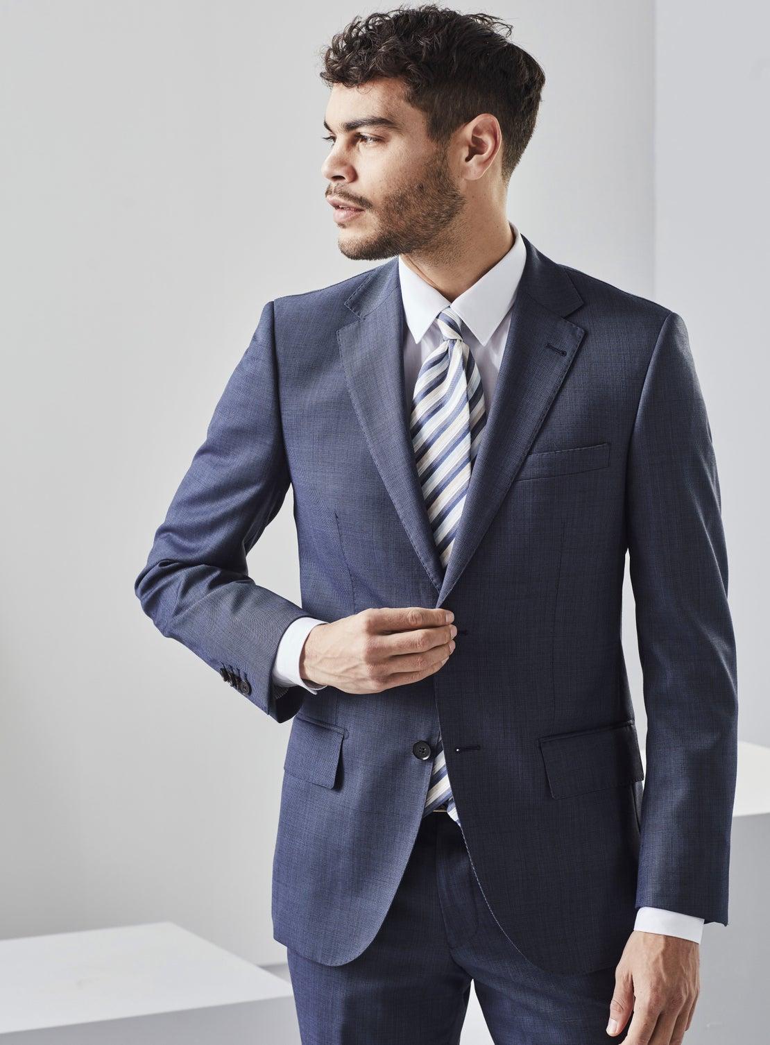 Carlton Cornflower Blue Nailhead Suit