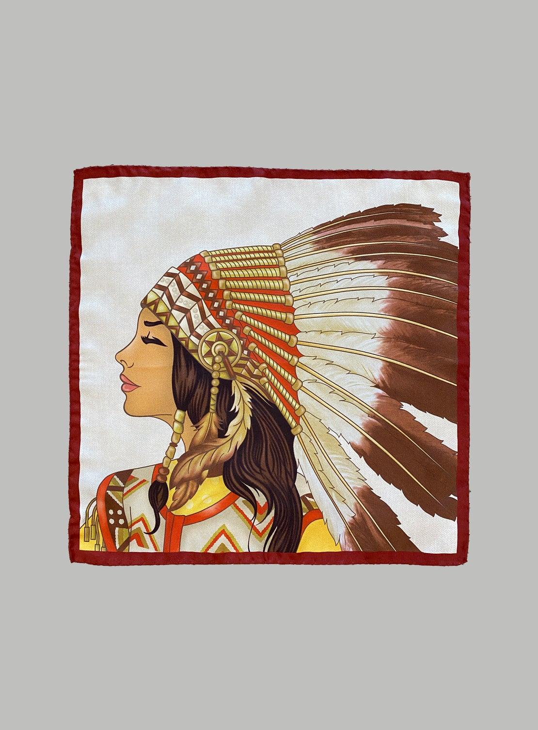 Choc and Cream Female Indian deco