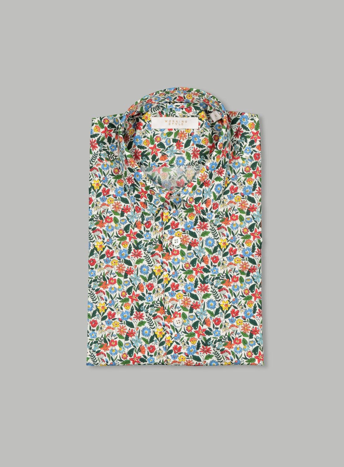 Colourful Floral Shirt