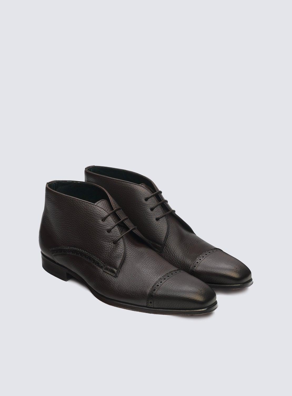 Deacon Chocolate Boot