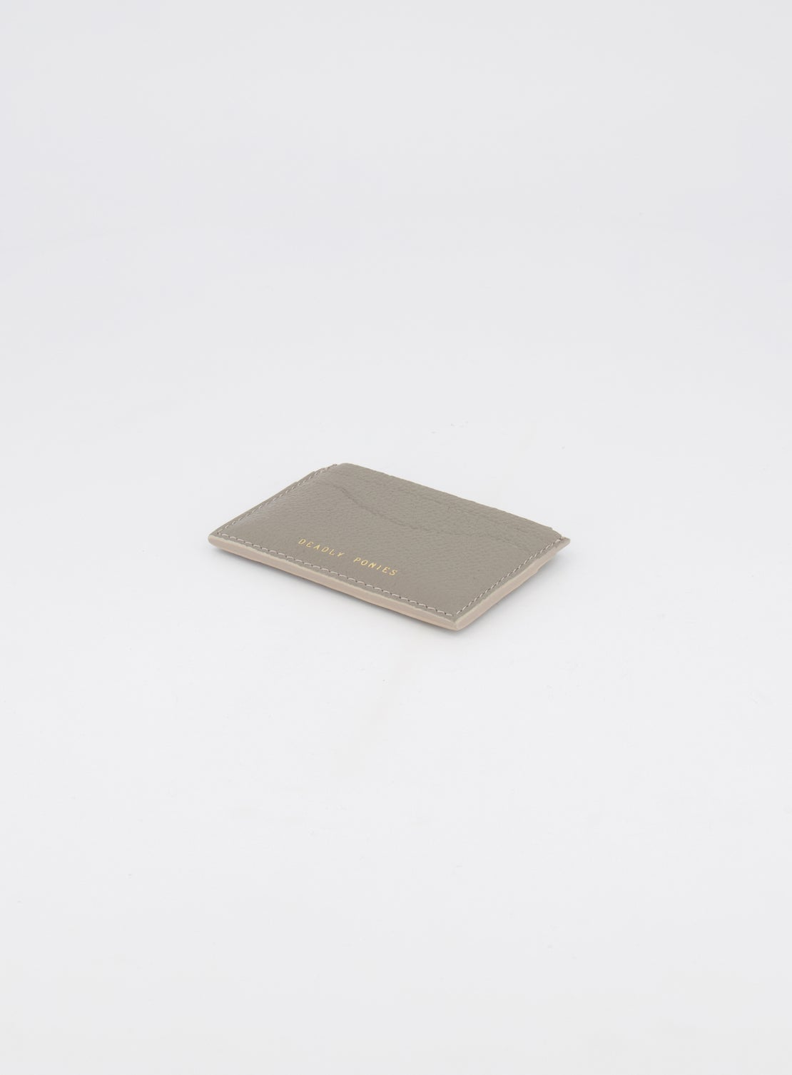 Deadly Ponies Card File - Pewter
