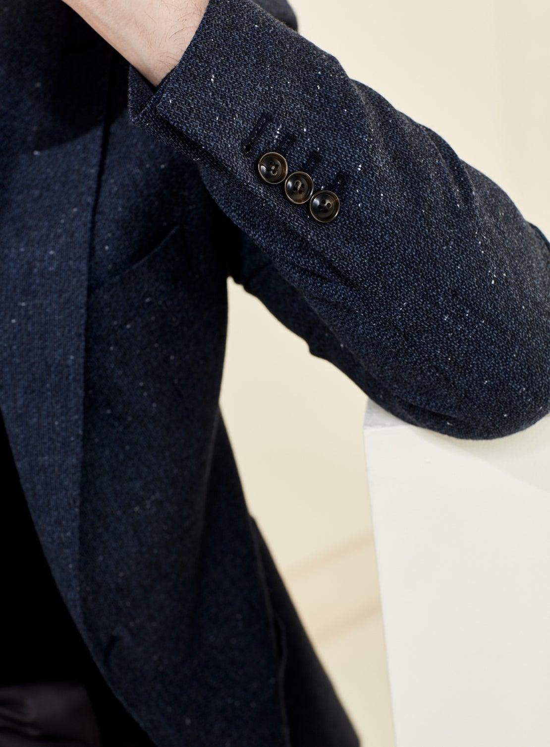 Denim Blue Donegal Jacket