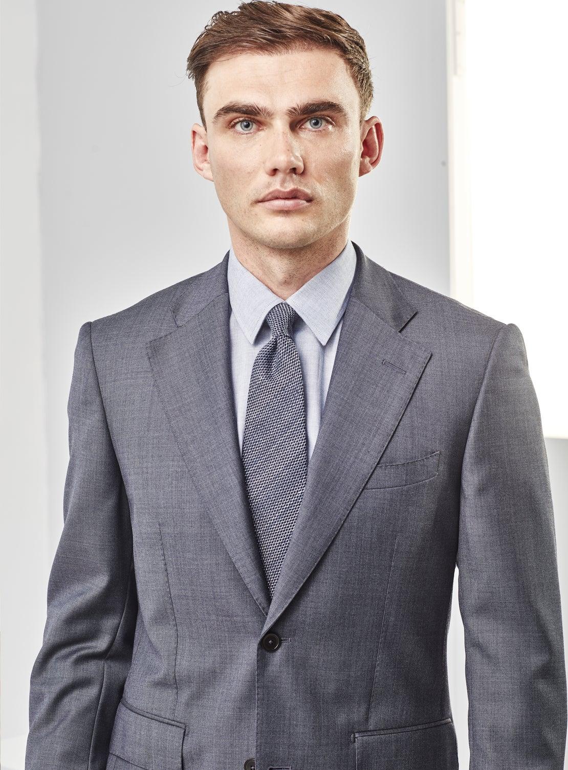 Denim Blue Suit
