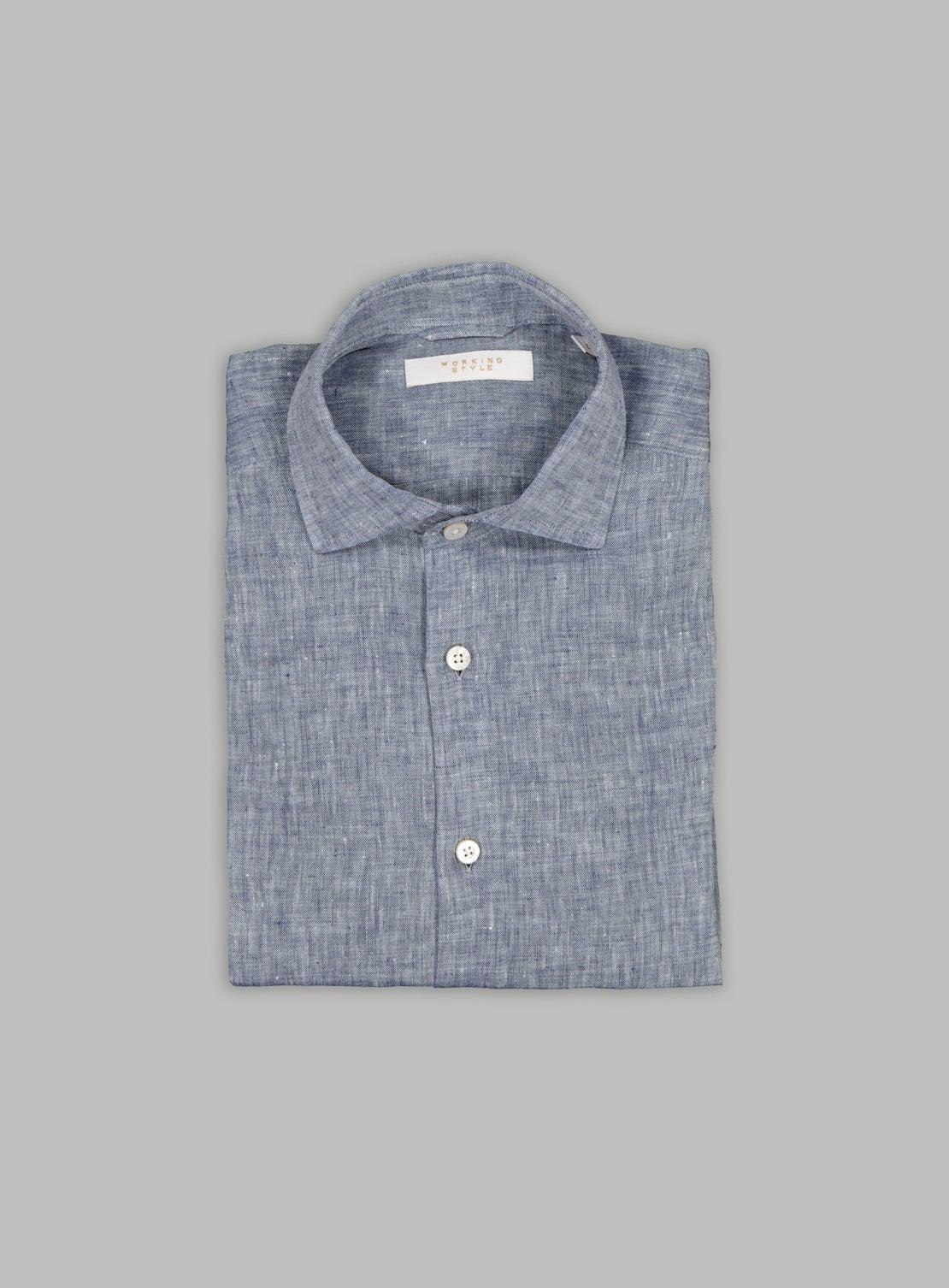 Denim Linen Shirt