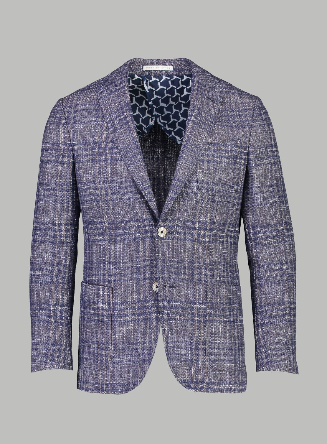 Dino Lavender Check Sportscoat