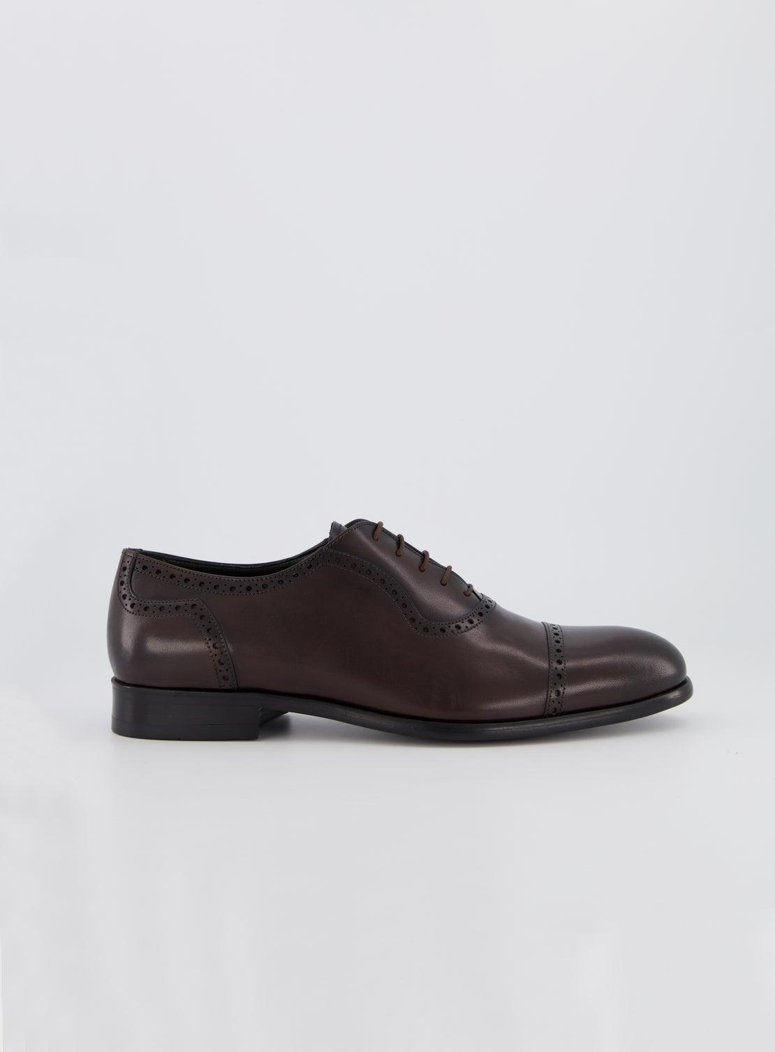 DM Chocolate Brogue Shoe