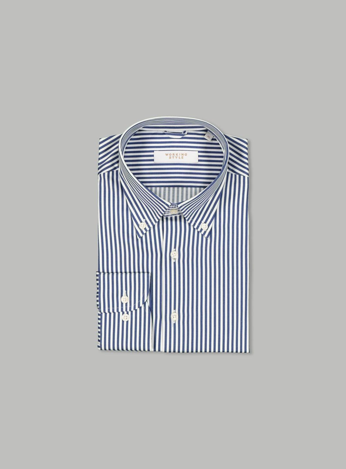 Edmondo Navy Essential Shirt