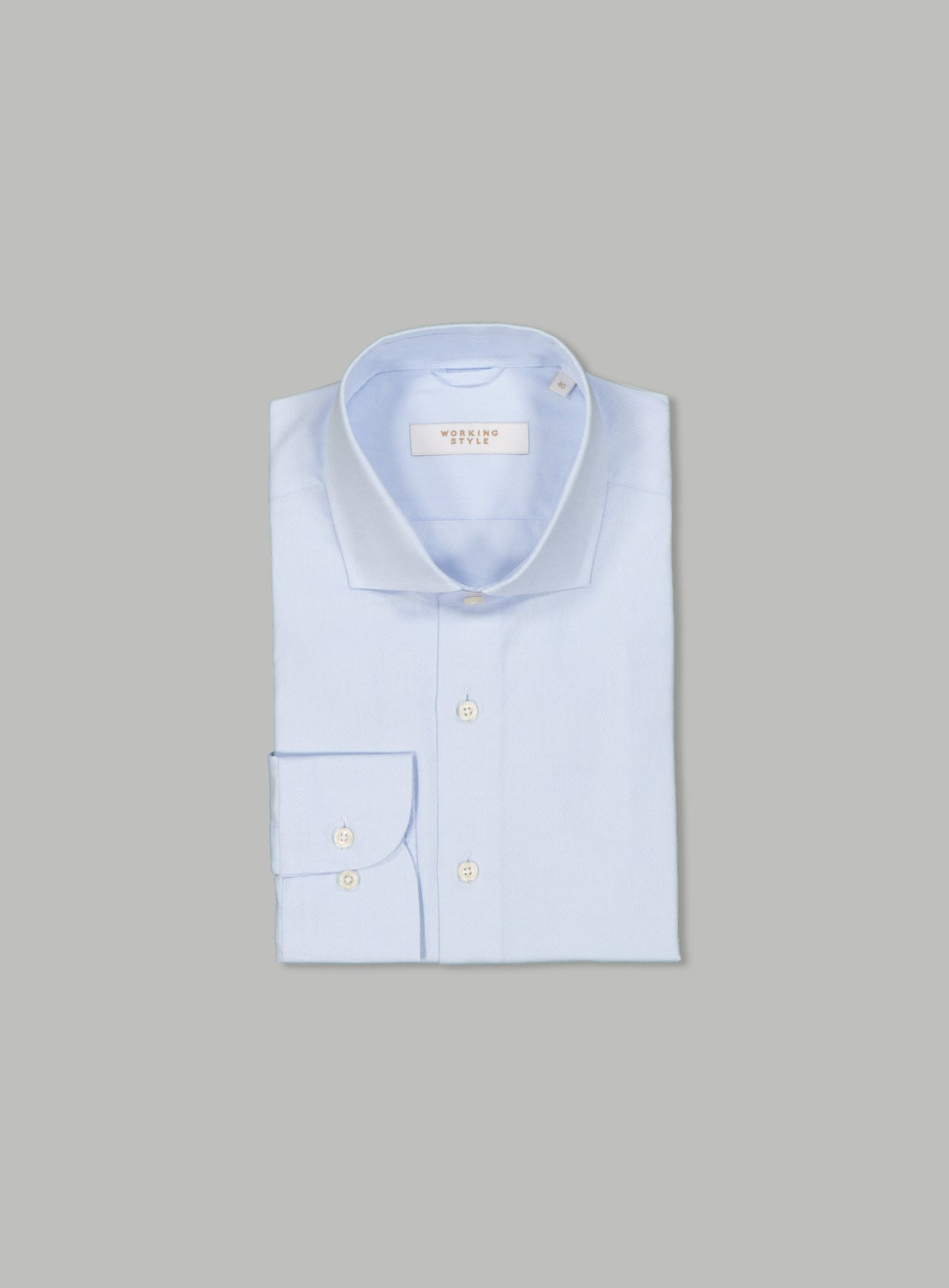 Eduardo Blue Essential Shirt