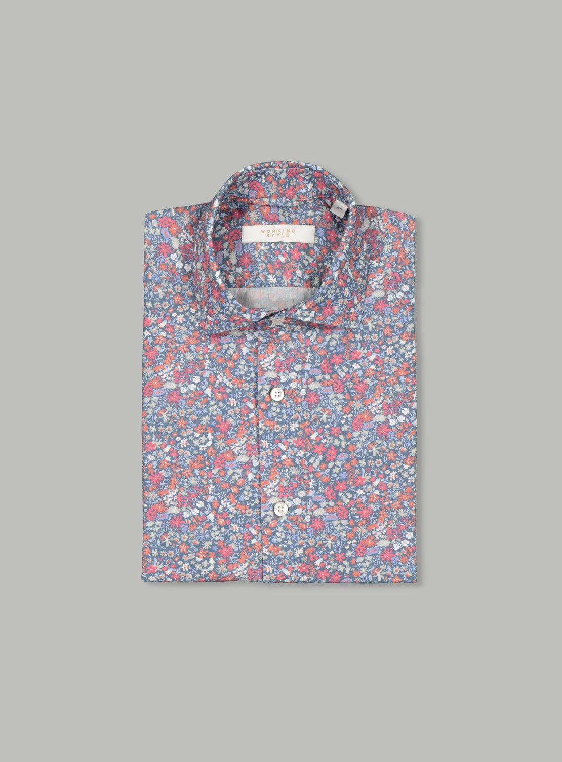 Floral Collage Shirt