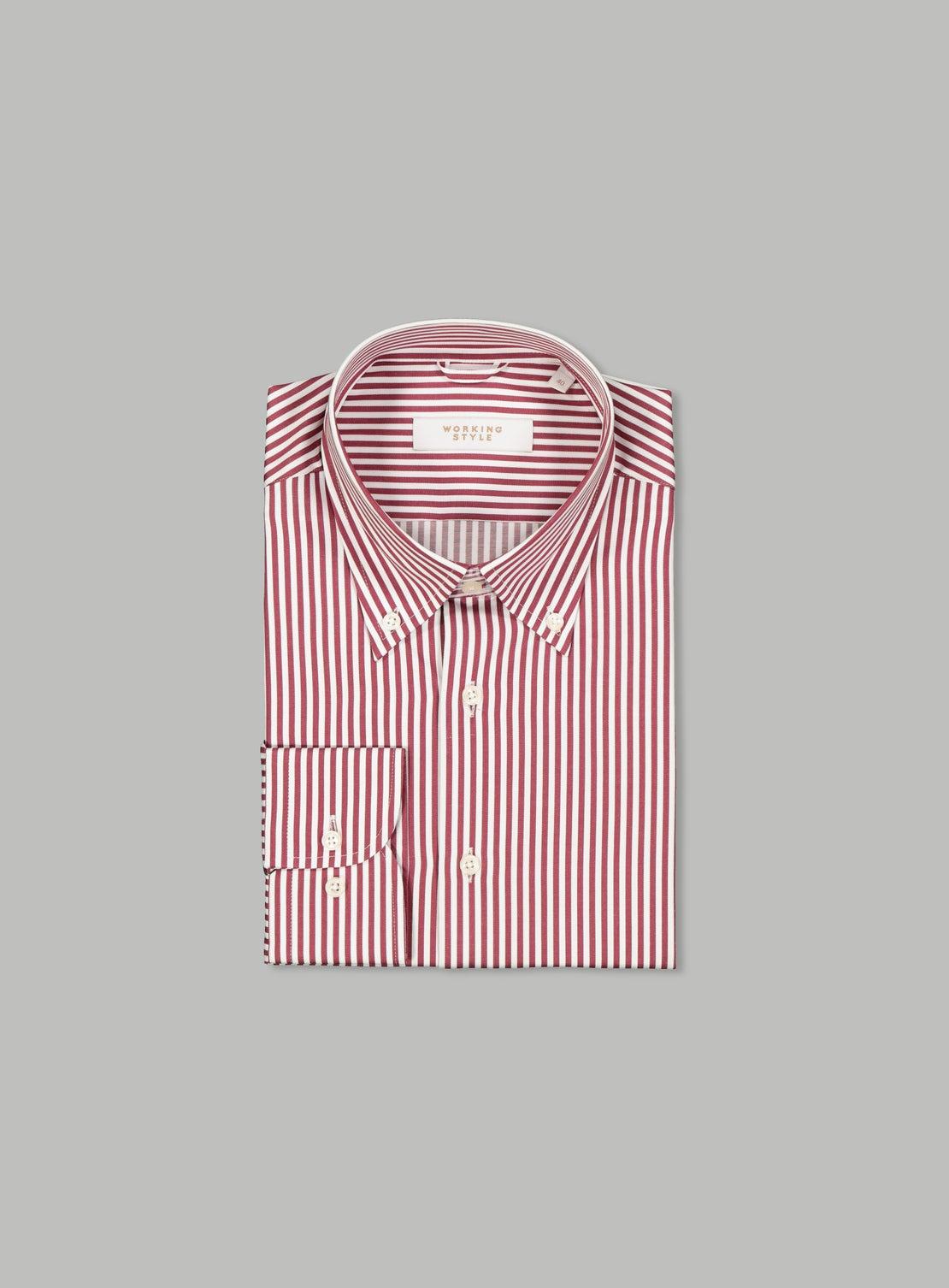 Francis Burgundy Essential Shirt