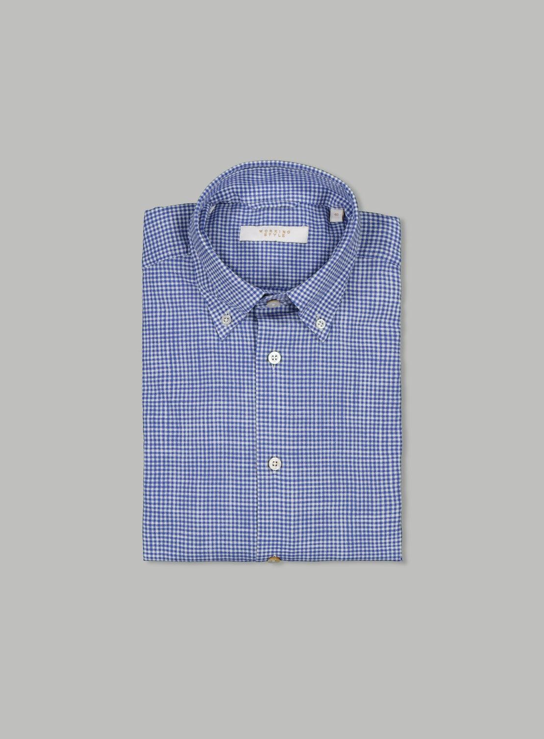 Frank Blue Button Down Shirt