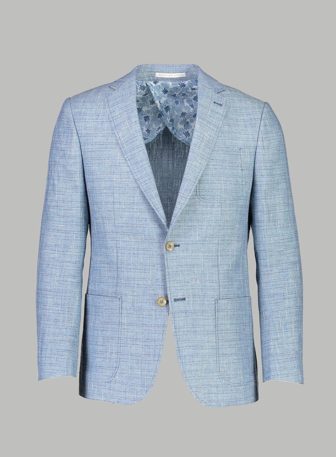Franklin Powder Blue Check Sportscoat