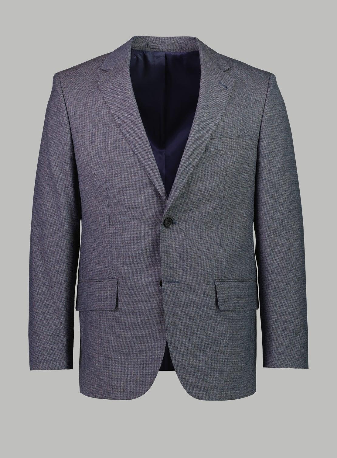 Gael Blue Puppytooth Suit