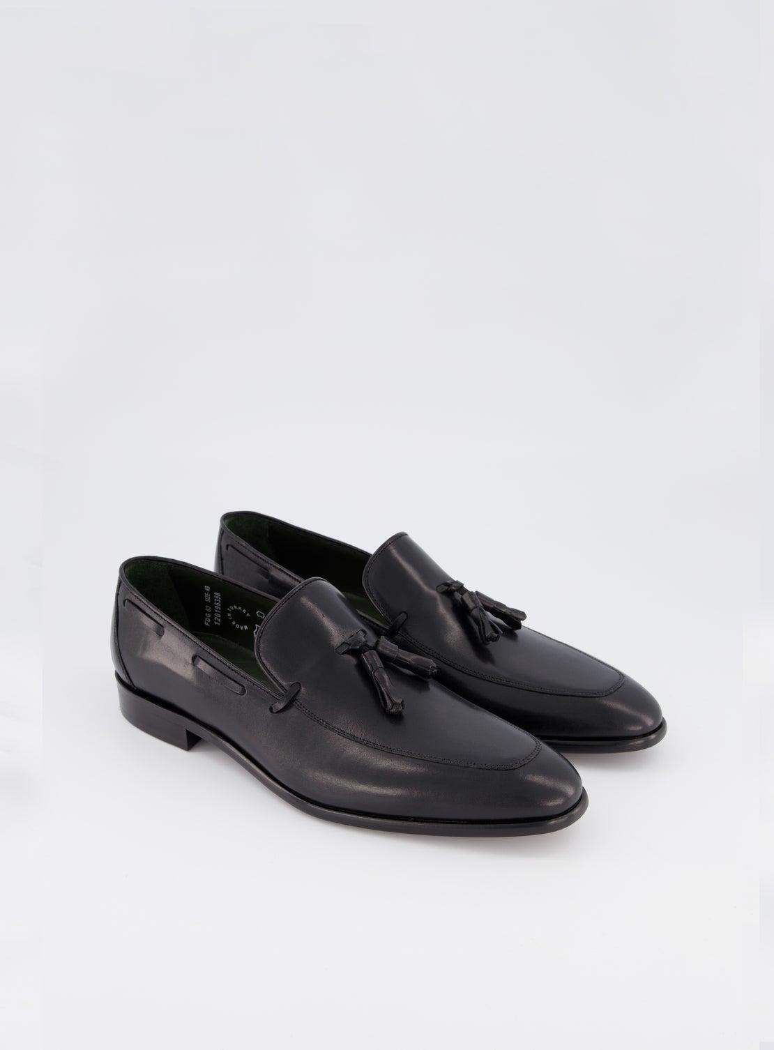 Gahn Black Tassle Loafer