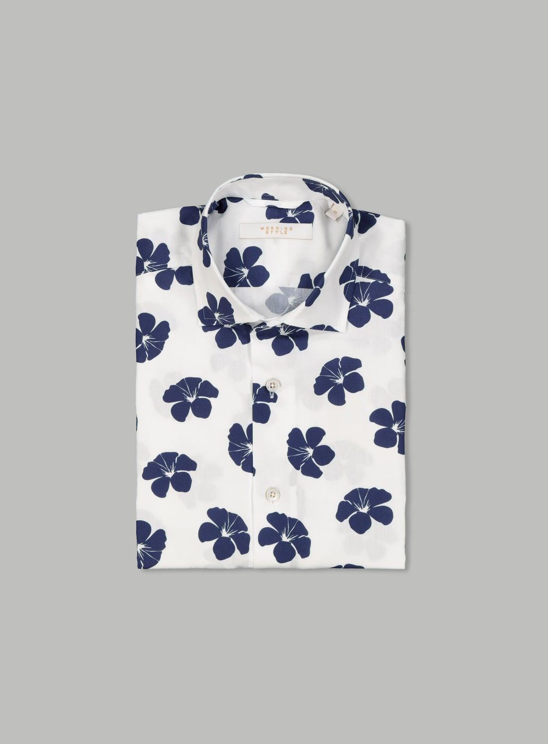 Gastone White Short Sleeve Shirt