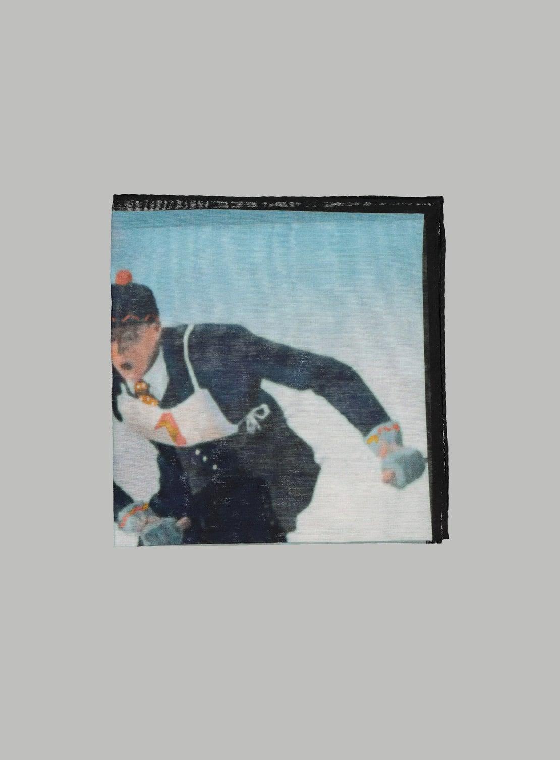 Giant Slalom Pocket Square