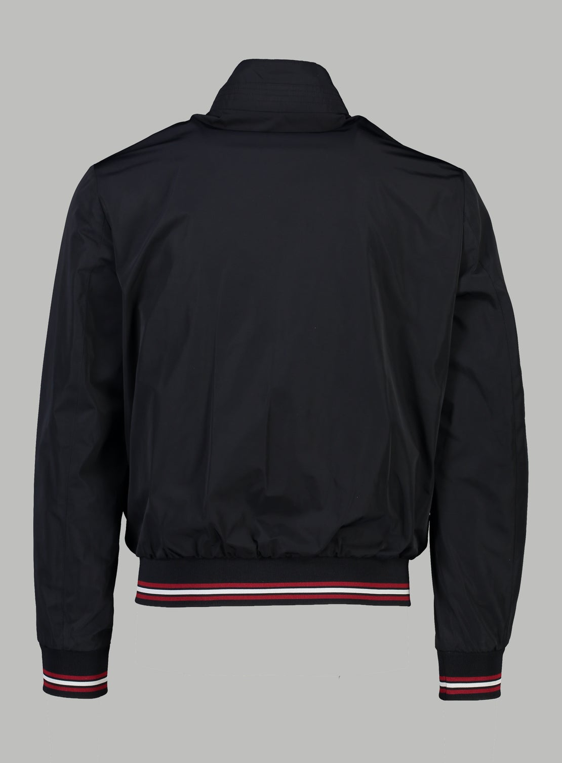 Gil Red Trim Bomber Jacket