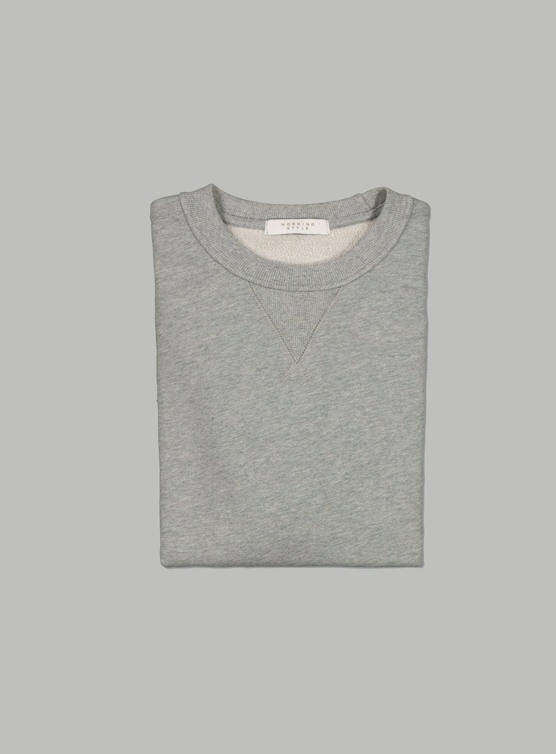 Grey Marle French Terry Sweatshirt