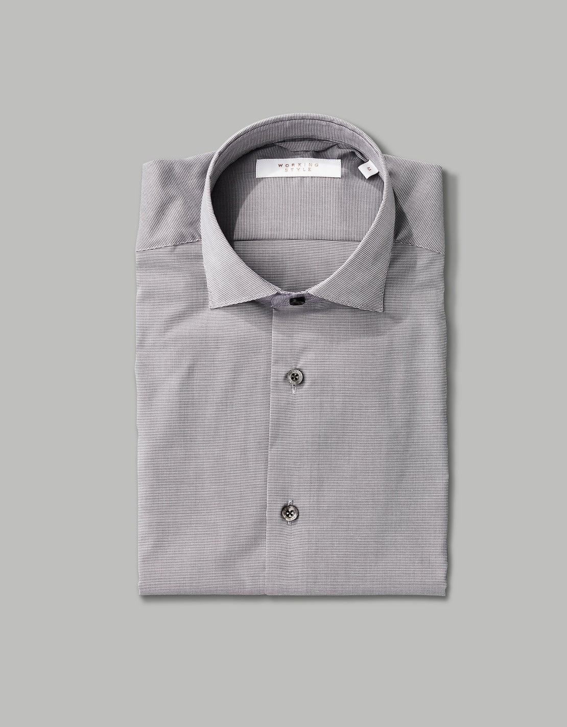 Grey Puppytooth Shirt