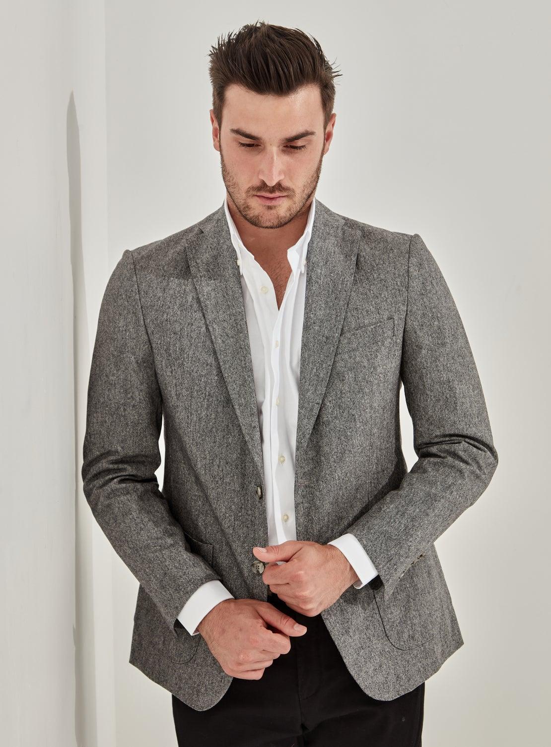 Grey Tweed Separates Jacket