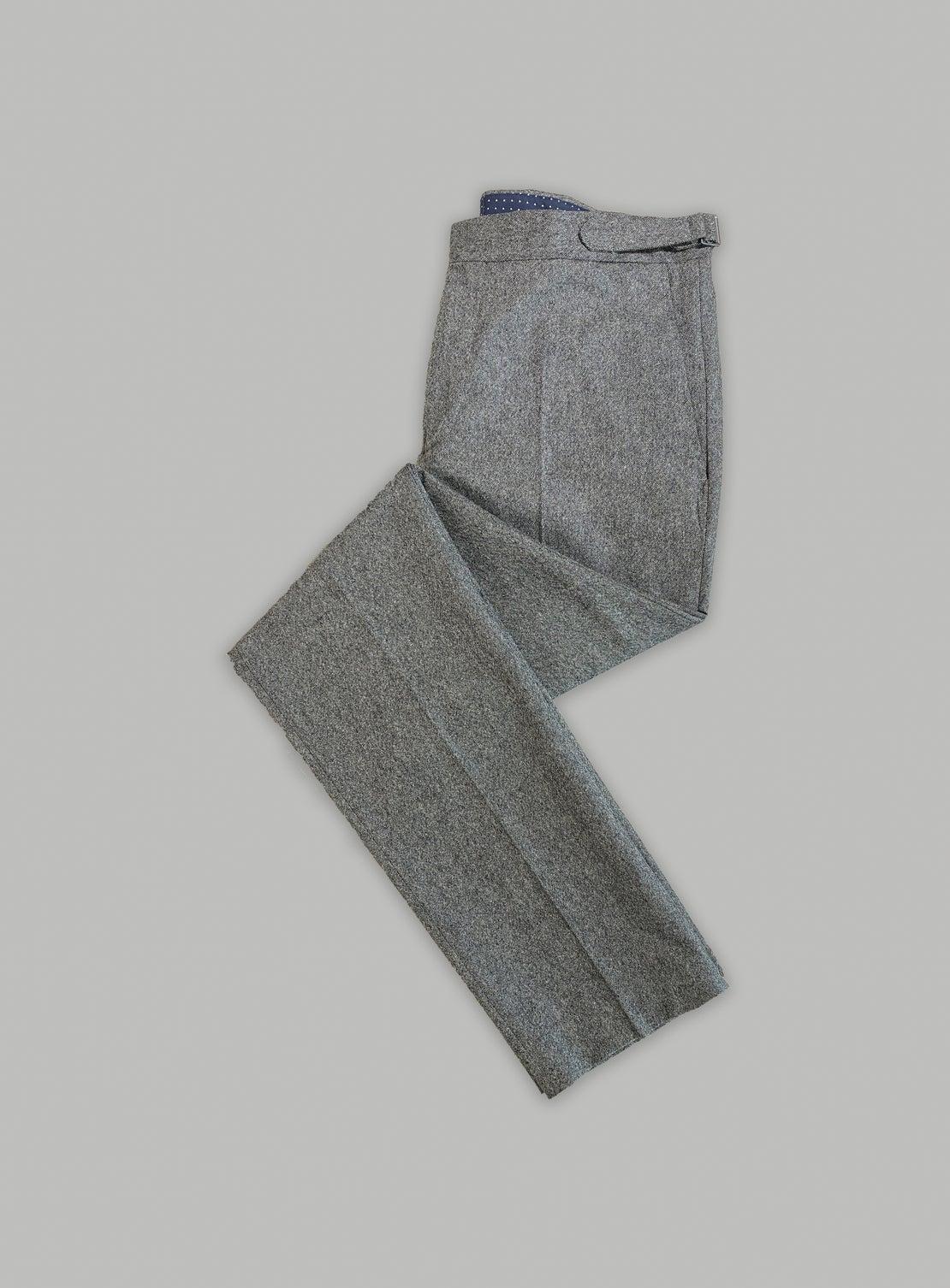 Grey Tweed Separates Trouser