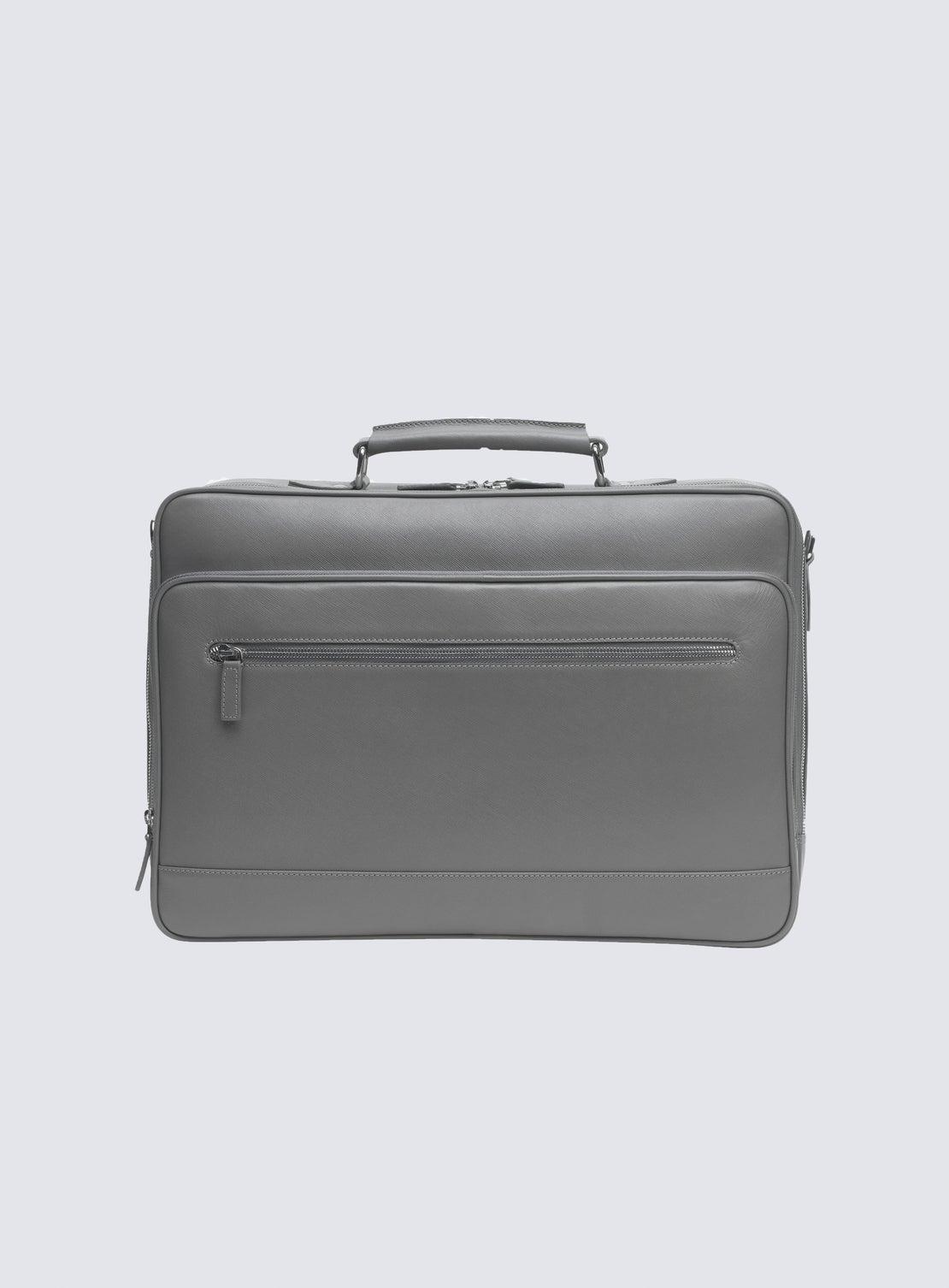 Grey Voyager Bag